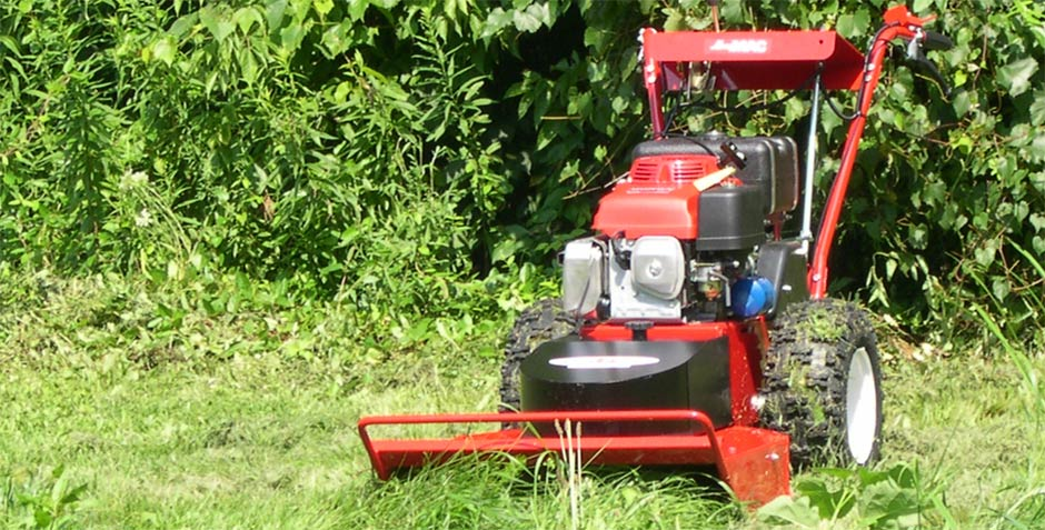 We do rough mowing and brush removal for your South Metro home or business