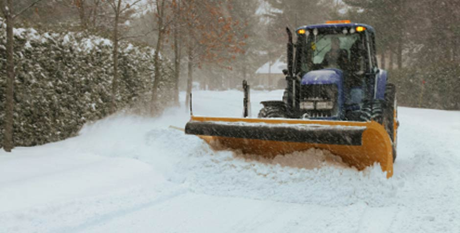 Caola Landscaping plows snow in the South Metro area